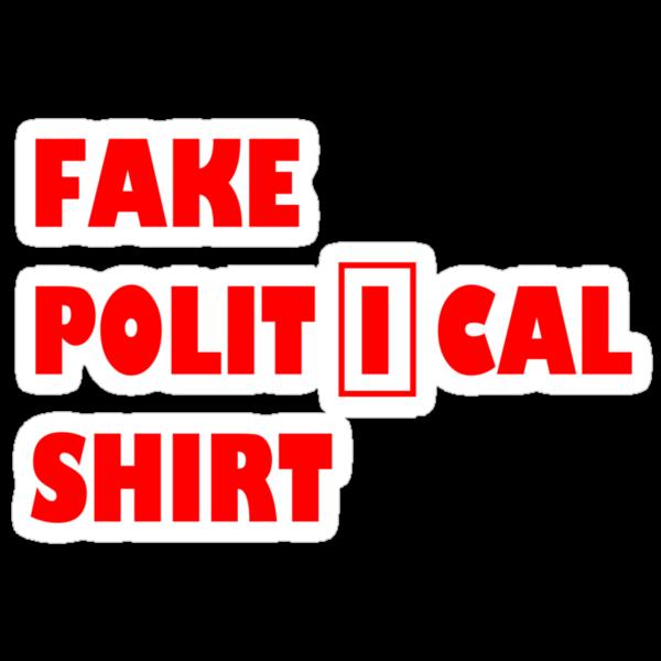 Fake political shirt by philman88