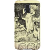 The shepheard's calender twelve aeglogues proportionable to the twelve monethes Newly adorned with twelve pictures and other devices by Walter Crane 1898 91 - August Samsung Galaxy Case/Skin