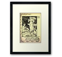 The shepheard's calender twelve aeglogues proportionable to the twelve monethes Newly adorned with twelve pictures and other devices by Walter Crane 1898 91 - August Framed Print