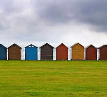 Beach Huts by Michael House