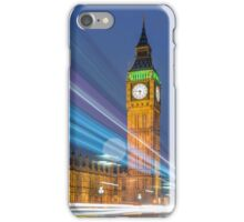 Speed of Light-London iPhone Case/Skin