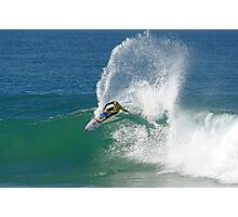 Mick Fanning wins heat at 2009 Rip Curl Pro (2) Photographic Print