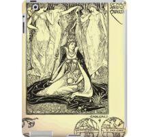 The shepheard's calender twelve aeglogues proportionable to the twelve monethes Newly adorned with twelve pictures and other devices by Walter Crane 1898 53 - April iPad Case/Skin