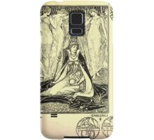 The shepheard's calender twelve aeglogues proportionable to the twelve monethes Newly adorned with twelve pictures and other devices by Walter Crane 1898 53 - April Samsung Galaxy Case/Skin
