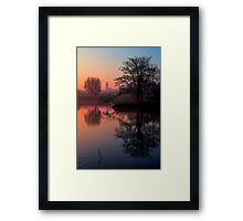 Misty Dawn Sydenham Framed Print