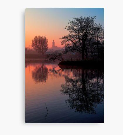 Misty Dawn Sydenham Canvas Print