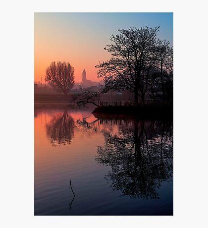 Misty Dawn Sydenham Photographic Print