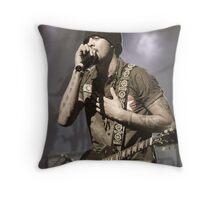Michael Franti Throw Pillow