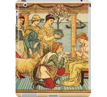 Walter Crane's Painting Book 1889 37 - Gifts Color iPad Case/Skin