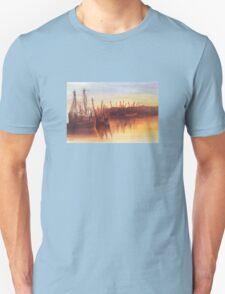 Marina at Sunset Unisex T-Shirt