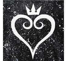 Kingdom Hearts II Heart Photographic Print
