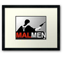Mal Reynold's Men (AKA Browncoats) Framed Print