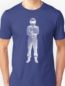 The Stig Pop Art Full Body WHITE T-Shirt