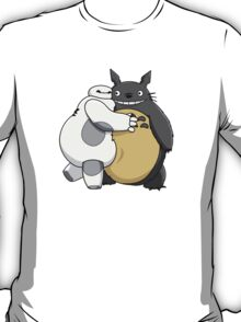 Baymax and Totoro Hug T-Shirt