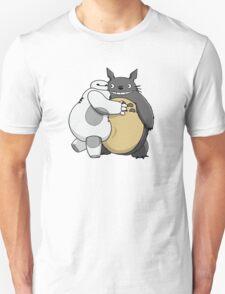 Baymax and Totoro Hug Unisex T-Shirt