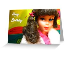 Barbie Happy Birthday Greeting Card Greeting Card
