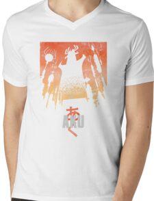 Akaiju Mens V-Neck T-Shirt