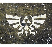 Legend of Zelda Triforce Photographic Print