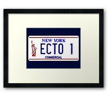 ECTO 1 Framed Print