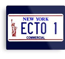 ECTO 1 Metal Print