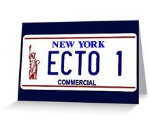ECTO 1 Greeting Card