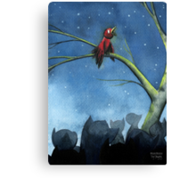 Dinner and a Show Canvas Print