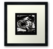 """""""Narcissus and Shiny Surfaces"""" Framed Print"""