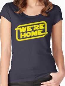 We're Home Women's Fitted Scoop T-Shirt