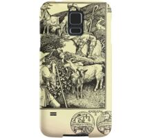 The shepheard's calender twelve aeglogues proportionable to the twelve monethes Newly adorned with twelve pictures and other devices by Walter Crane 1898 81 - July Samsung Galaxy Case/Skin