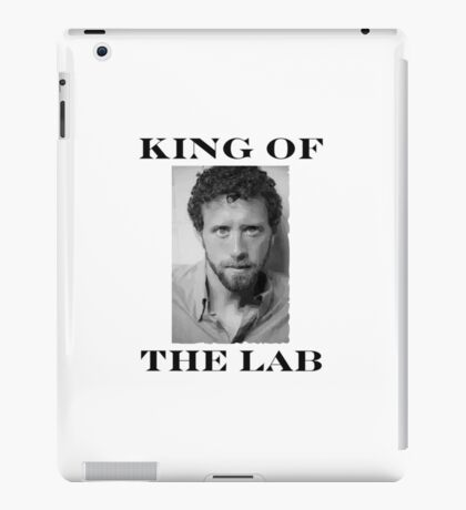 BONES - KING OF THE LAB  iPad Case/Skin