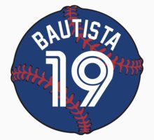 Jose Bautista Baseball Design by canossagraphics