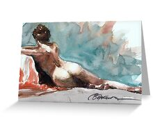 Figurative study Greeting Card