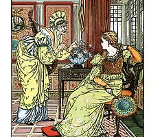 The Song Of Sixpence Pocket Book 1909 Walter Crane 43 - The Ill Meaning Advisor by wetdryvac