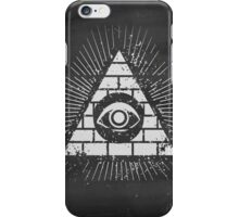 Pyramid with eye iPhone Case/Skin