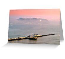 Evening Mist Greeting Card
