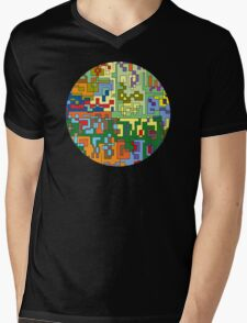Maps  Mens V-Neck T-Shirt