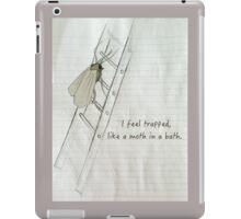 A Moth In A Bath iPad Case/Skin