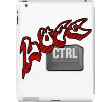 Lose Ctrl (red) iPad Case/Skin