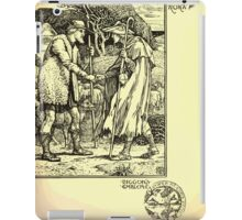 The shepheard's calender twelve aeglogues proportionable to the twelve monethes Newly adorned with twelve pictures and other devices by Walter Crane 1898 101 - September iPad Case/Skin