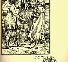 The shepheard's calender twelve aeglogues proportionable to the twelve monethes Newly adorned with twelve pictures and other devices by Walter Crane 1898 101 - September by wetdryvac
