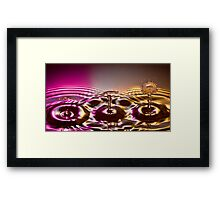 Show Time Framed Print