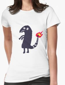 Charmander Imgur's Tattoo Womens Fitted T-Shirt