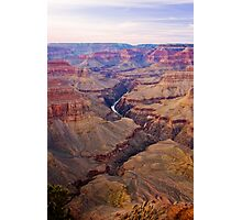 Days End, Grand Canyon Photographic Print