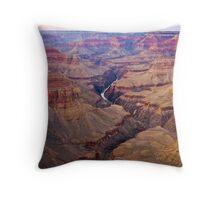Days End, Grand Canyon Throw Pillow