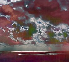 Pink Seas and Clouds by Kasia-D