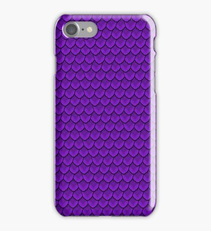 Mid-day Periwinkle Mermaid Scale iPhone Case/Skin