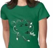 Nature girl Womens Fitted T-Shirt