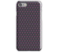 Purple and Green Shadow Mermaid Scale iPhone Case/Skin