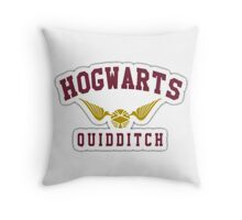 Hogwarts Quidditch Throw Pillow