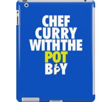 Chef Curry With The Pot Boy [With 3 Sign] iPad Case/Skin
